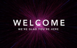 "Space ""Welcome"" Motion Title (81595)"