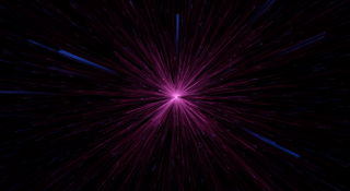 Space Motion Background