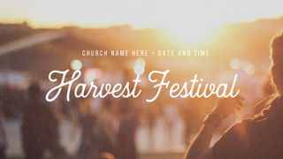 Harvest Festival Graphic