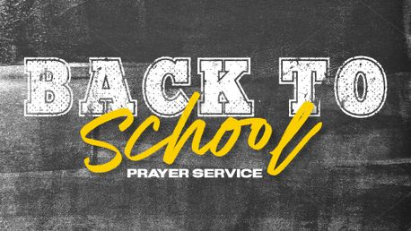 Back To School Prayer (81661)