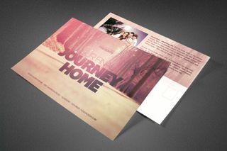 Final Journey Home Postcard