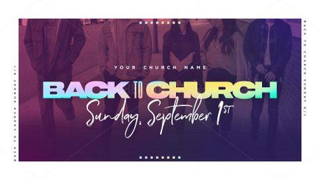Back To Church Slide (81722)