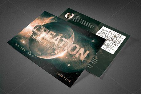 Creation Church Postcard (81782)