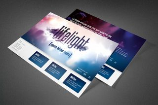 LifeLight Church Postcard
