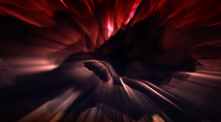 Lava Light Streaks Background