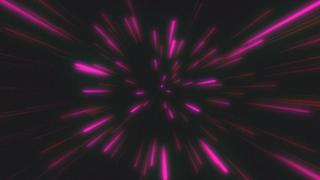 Retro Warp Speed Animated Loop