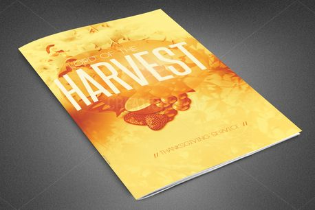 Lord of the Harvest Bulletin (82318)
