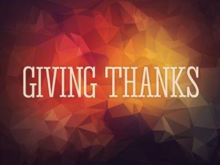 Giving Thanks Screen Slides