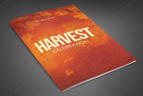 Harvest Celebration Bulletin (82344)