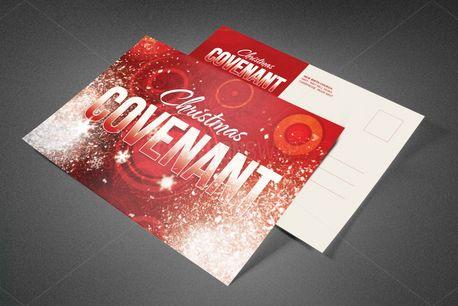 Christmas Covenant Postcard (82412)