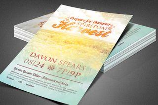 Spiritual Harvest Church Flyer