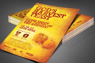 God's Harvest Feast Flyer