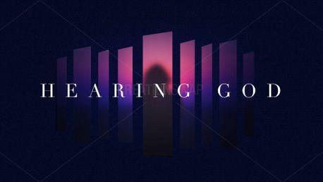 Hearing God Sermon Graphic (82540)