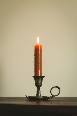 Candlestick on Table