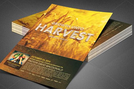 Growth unto Harvest Flyer (82570)