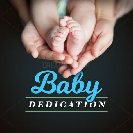 Baby Dedication Slide (82648)