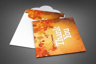 Fall and Harvest Card