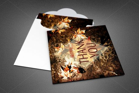 Thanksgiving Thank You Card (82680)