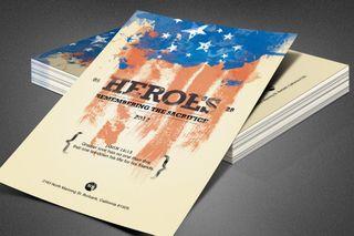 Heroes Memorial Day Flyer
