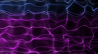 Flowing Lines Background