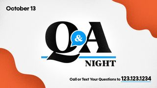 Q & A Slide