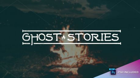 Ghost Stories // PSD INCLUDED (82912)