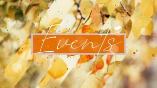 Autumn Events Title Graphics
