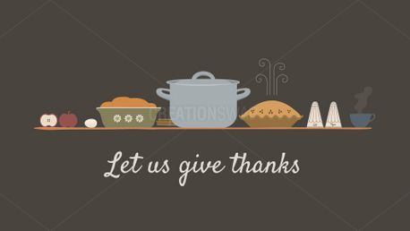 Let Us Give Thanks (83154)