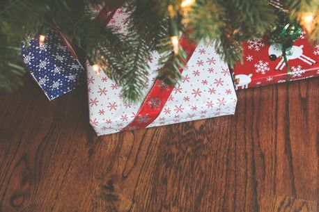 Christmas Gifts Under Tree (83373)
