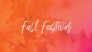 Fall Festival Graphics Package