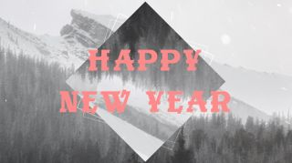 Snowy Mountain New Year