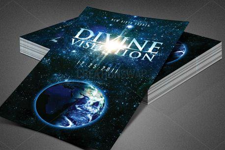 Divine Visitation Church Flyer (83487)