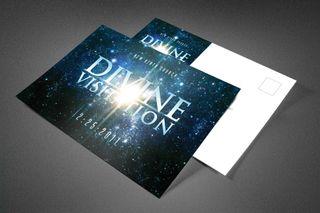 Divine Visitation Postcard