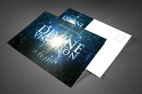 Divine Visitation Postcard (83488)