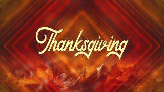 Thanksgiving Title Background