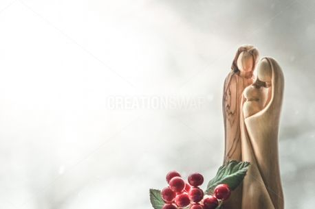 Wooden Nativity (83733)