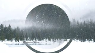 Snowy Lake Motion Background