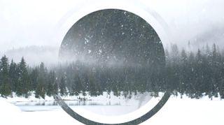 Snowy Lake Motion Background