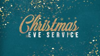 Christmas Eve Service Gold