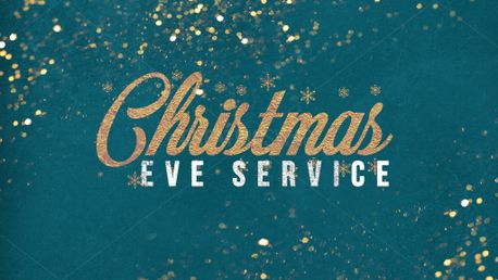Christmas Eve Service Gold (83943)