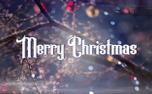 Christmas Bokeh Merry (83997)