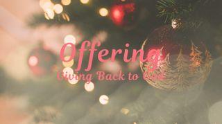 Christmas Tree Offering