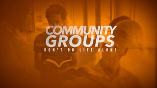 Community Groups Don't