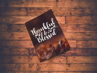 Thankful & Blessed Bulletin