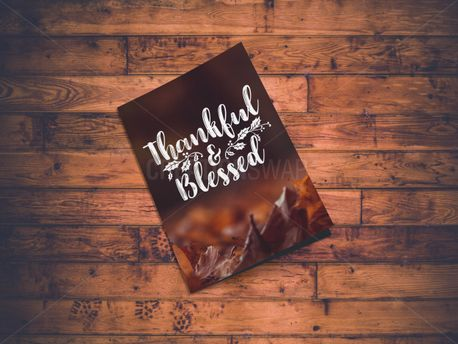 Thankful & Blessed Bulletin (84076)