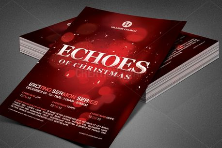 Echoes of Christmas Flyer (84142)