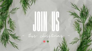 Join Us This Christmas