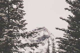 Mountain in between