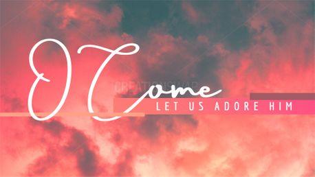 Let Us Adore (84322)