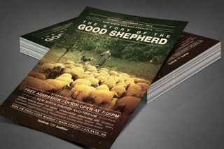 Good Shepherd Church Flyer